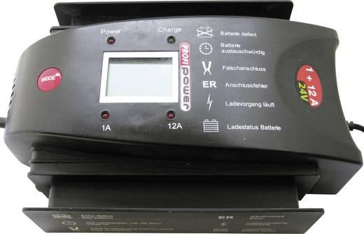 Automatikladegerät Profi Power Écran LCD 1+12A LCD 1+12A 24 V 1 A, 12 A