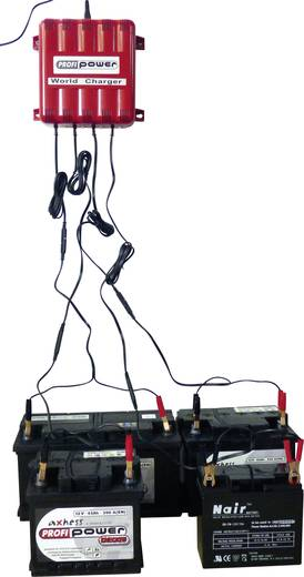 Automatikladegerät Profi Power 4er 4A12V World Charger 12 V 4 A