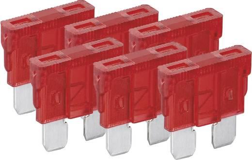 Standard Flachsicherung 10 A Rot FixPoint 20382 6 St.