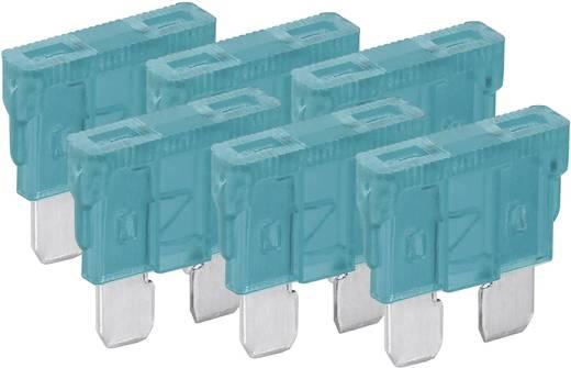 Standard Flachsicherung 15 A Blau FixPoint 20383 6 St.