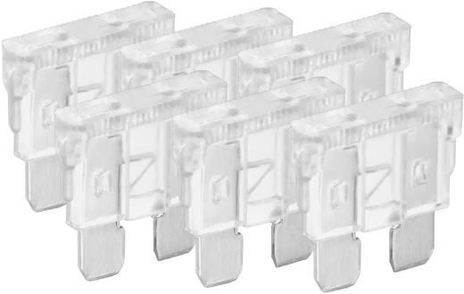 Standard Flachsicherung 25 A Weiß FixPoint 20385 6 St.