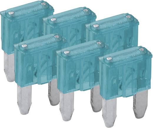 Mini-Flachsicherung 6er Pack FixPoint SORTIMENT 1027-15A KFZM-Sicherung 6 tlg. 20390