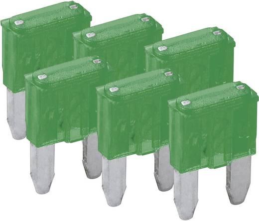 Mini-Flachsicherung 6er Pack FixPoint SORTIMENT 1027-30A KFZM-Sicherung 6 tlg. 20393
