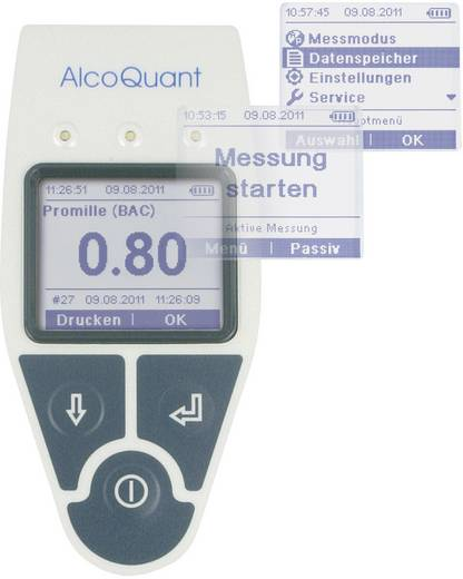 Alkoholtester Envitec by Honeywell AlcoQuant 6020 Messbereich Alkohol (max.)=5.5 ‰ inkl. Display