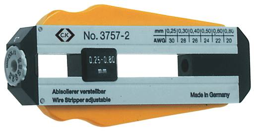 Drahtabisolierer Geeignet für PVC-Drähte, PTFE-Drähte C.K. 330013