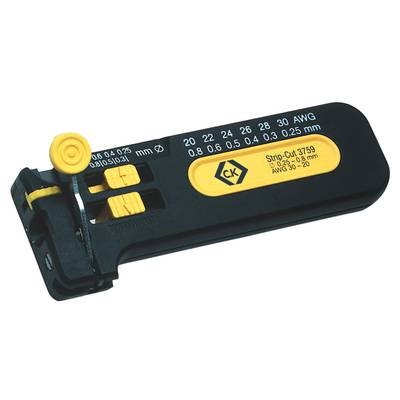 Drahtabisolierer Geeignet für PVC-Drähte, PTFE-Drähte 0.25 bis 0.80 ...