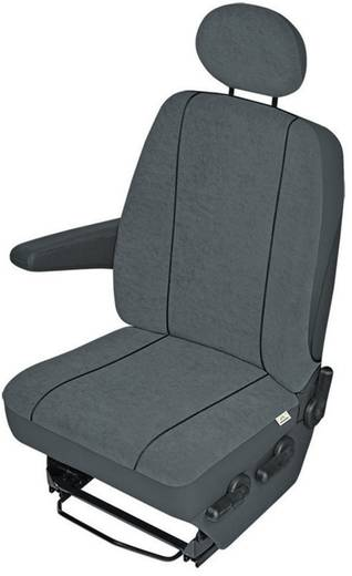 Sitzbezug 1 Stück 22411 22411 Polyester Anthrazit Fahrersitz