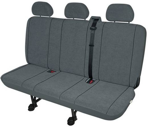 22413 VS3 Sitzbezug 1 Stück Polyester Anthrazit Rücksitzbank (3er)