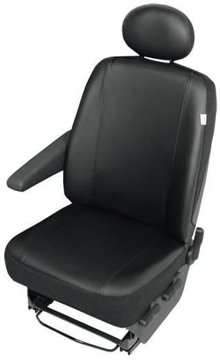 22811 VS1 Sitzbezug 1 Stück Kunstleder Schwarz Fahrersitz