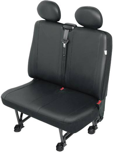 Sitzbezug 1 Stück 22812 Stoelhoes bestelwagen VS2 kunstleer Kunstleder Schwarz Doppelsitz