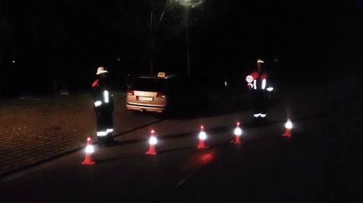 Leitkegel HP Autozubehör 10282 0113910 LED-Notleuchte rot