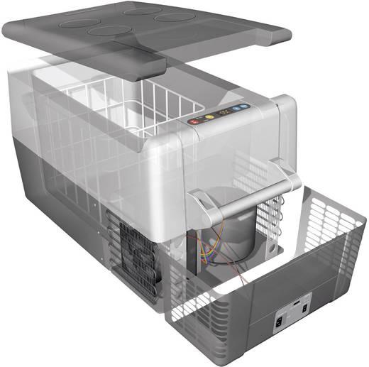 Kühlbox CoolFreeze CF 40 12 V, 24 V, 110 V, 230 V Grau 37 l EEK=A+ Waeco
