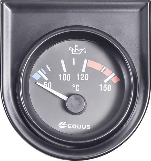 Kfz Einbauinstrument Wasser-/Öltemperaturanzeige Messbereich 60 - 160 °C Equus 842109 Standart Gelb, Rot, Grün 52 mm