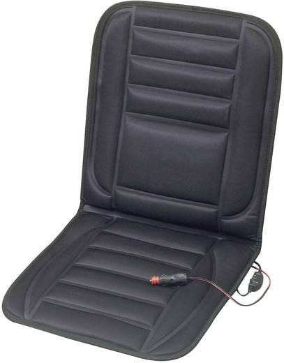 Beheizbare Sitzauflage Comfort 12 V 2 Heizstufen 75750 Schwarz