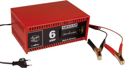 Werkstattladegerät Absaar Chargeur de batterie 77905 77905 12 V 6 A
