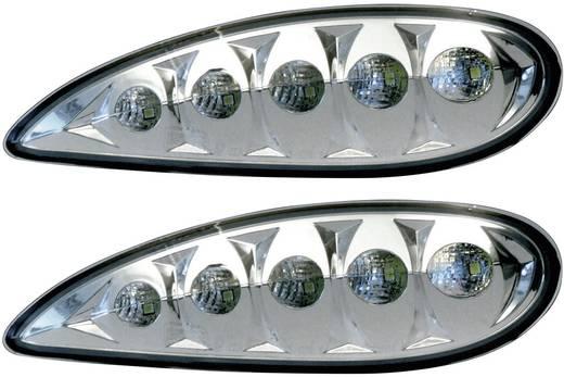 Tagfahrlicht LED Passend für Mercedes Benz Devil Eyes 610866 Mercedes S Klasse W220, 10.02 -10.05