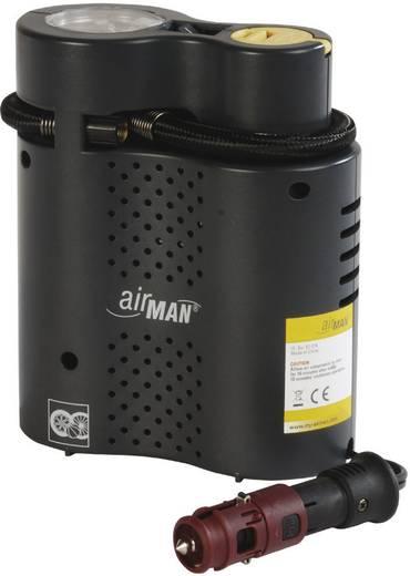 Kompressor 6 bar Airman 52-074-011 Automatische Abschaltung, Aufbewahrungs-Box/-Tasche, Kabelfach/-aufnahme, Analoges Ma