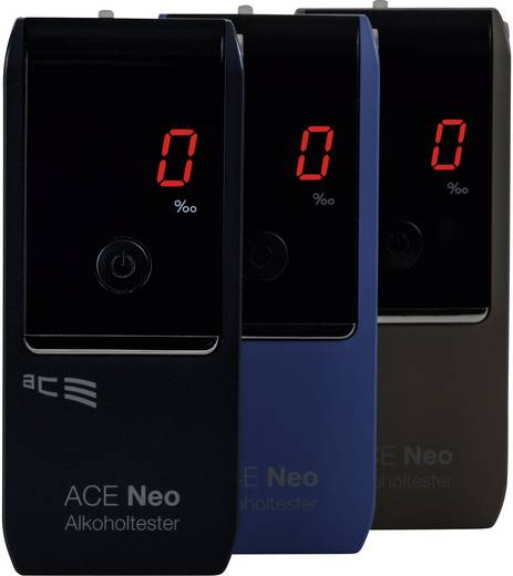 Alkoholtester ACE Neo Navy 0 bis 4 ‰ inkl. Display