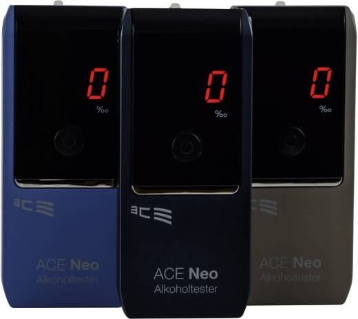 ACE Neo Alkoholtester Navy 0 bis 4 ‰ inkl. Display