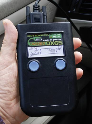 OBD II Diagnosetool Diamex 7101 DX65