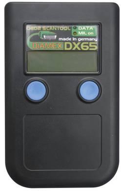 Ruční automobilový diagnostický skener OBD II Diamex DX65, 7101