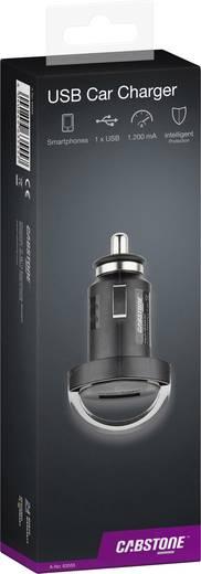 Cabstone USB-Adapter für den Zigarettenanzünder Belastbarkeit Strom max.=1.2 A Passend für (Details) Zigarettenanzünder,