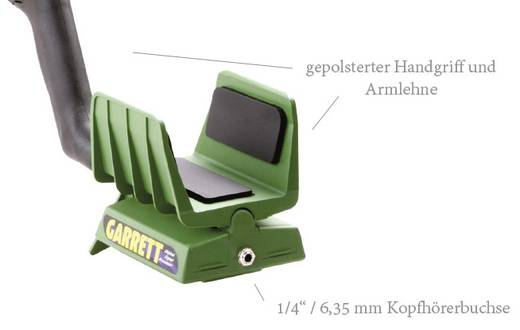 Metalldetektor Garrett GTI 2500 Suchtiefe (max.) 220 cm