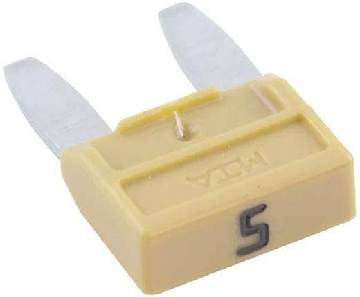 Mini Flachsicherung 5 A Beige 341124 330.025 1 St.