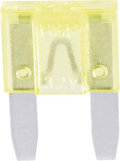 Mini Flachsicherung 20 A Gelb 341.131 330.301 1 St.