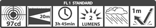 Krypton Mini-Taschenlampe mit Schlüsselanhänger Mag-Lite Solitaire® batteriebetrieben 37 lm 3.75 h 24 g
