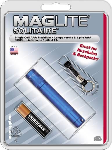 Krypton Mini-Taschenlampe mit Schlüsselanhänger Mag-Lite Schlüsselanhängerleuchte Solitaire batteriebetrieben 24 g Blau