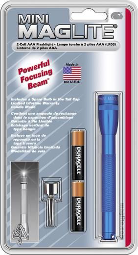Krypton Taschenlampe Mag-Lite Mini 2 AAA batteriebetrieben 49 g Blau