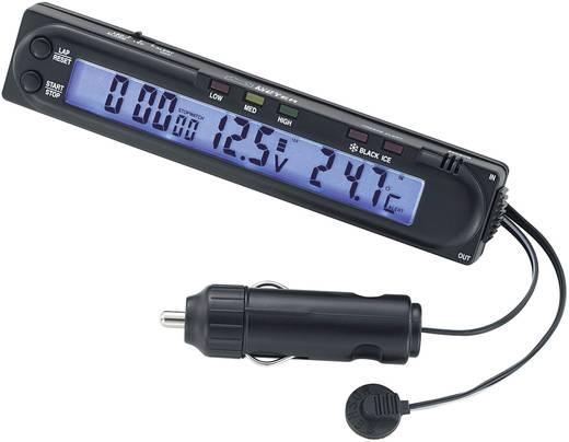 Thermometer Aufbau, Stoppuhr, Eiswarner, Innentemperatur, Außentemperatur 853397 Basetech -50 bis +70 °C