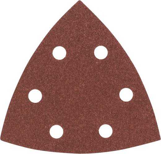 Deltaschleifpapier mit Klett, gelocht Körnung 120 Eckmaß 93 mm Bosch Accessories 2608605602 1 St.
