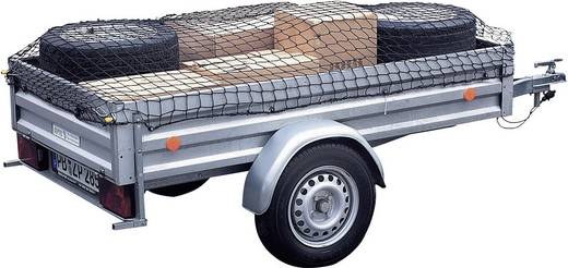 Anhängernetz (L x B) 2.1 m x 1.25 m 25164 25164 Elastisch, dehnbar, Mit Gummispannband