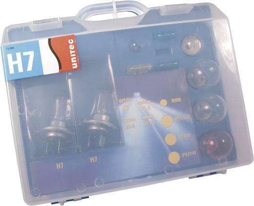 Leuchtmittel-Sortiment Unitec Standard H7 55 W
