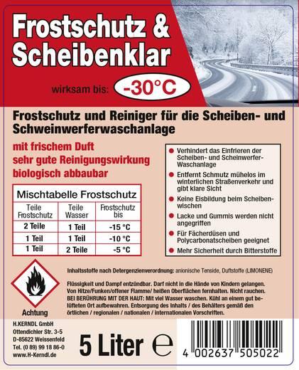 Scheibenfrostschutz Konzentrat -30 °C Kerndl 50508 5 l
