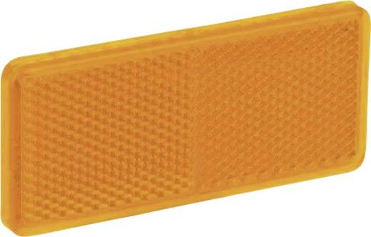 SecoRüt Refklektor Rechteck Orange (L x B) 90 mm x 44 mm