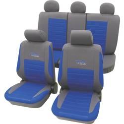 Image of cartrend 60120 Active Sitzbezug 11teilig Polyester Blau Fahrersitz, Beifahrersitz, Rücksitz