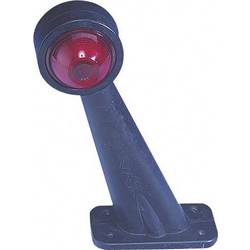 Obrysové světlo s montážním rámečkem SecoRüt, 90229, červená/černá