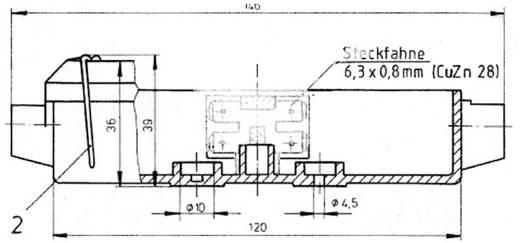 Verbindungsdose 8polig Verschlussart Drahtbügel SecoRüt