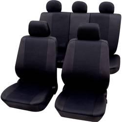 Autopoťahy Petex Sydney 26174804, sedadlo vodiča, sedadlo spolujazdca, zadné sedadlo, 11-dielna, polyester, čierna