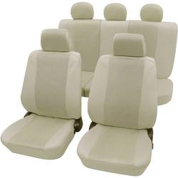 Autopoťahy Petex Sydney 26174809, sedadlo vodiča, sedadlo spolujazdca, zadné sedadlo, 11-dielna, polyester, béžová