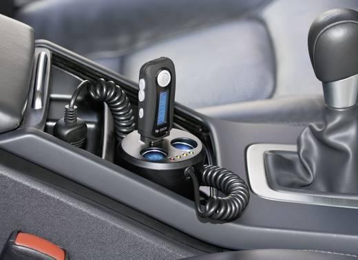 2fach Verteiler mit USB für Getränkehalter Belastbarkeit Strom max.=10 A Passend für (Details) Zigarettenanzünderstecke