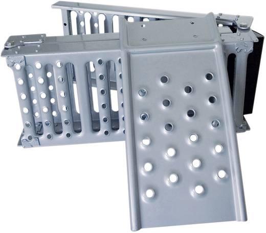 Auffahrrampe 1000 kg Klappbar Stahl cartrend 200 cm x 25 cm x 5 cm