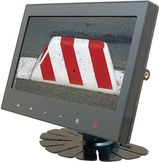 Kabel-Rückfahrvideosystem RV 900/3 Camos IR-Zusatzlicht, integriertes Mikrofon, integrierte Heizung, Automatischer Weißabgleich Aufbau