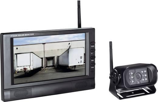 Funk-Rückfahrvideosystem FRV7-1 IR-Zusatzlicht, Spiegelfunktion, 3 Kamera-Eingänge Aufbau