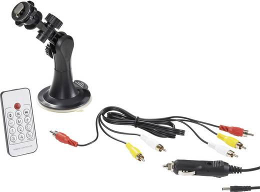 Funk-Rückfahrvideosystem FRV7-1 IR-Zusatzlicht Aufbau