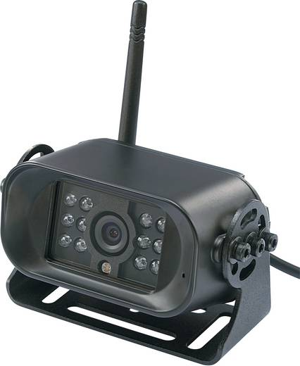 Funk-Rückfahrkamera FFKK4 (canal 4) IR-Zusatzlicht Aufbau