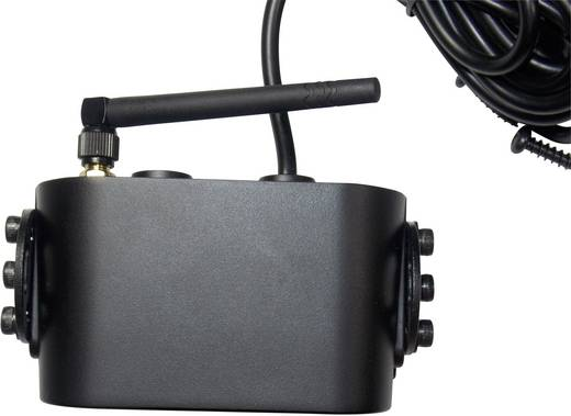 Funk-Rückfahrkamera FFKK4 (Kanal 4) IR-Zusatzlicht Aufbau